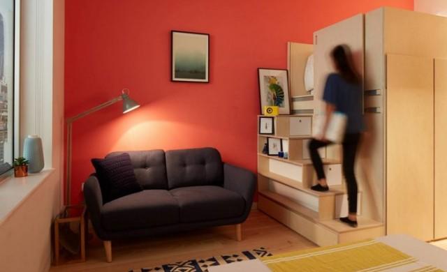 Този апартамент предлага всичко необходимо в 19 кв. метра