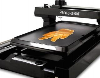 Тази машина принтира палачинки във всевъзможни форми