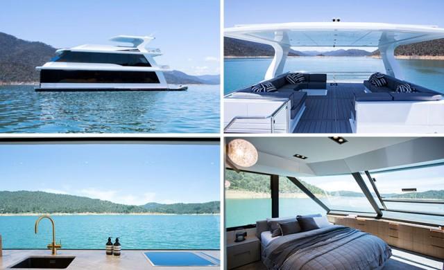 Как изглежда една съвременна къща-лодка?