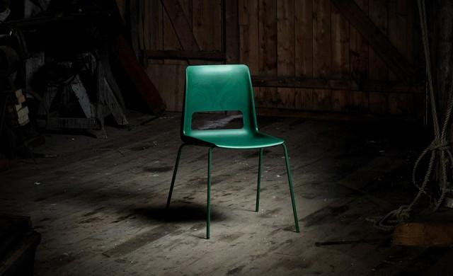Можете ли да познаете от какъв материал е този стол?