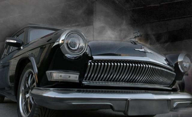 Тази кола е комбинация от ГАЗ-21 и Mercedes-Benz W211 E500