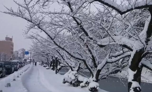 Животът в един от най-снежните градове в света