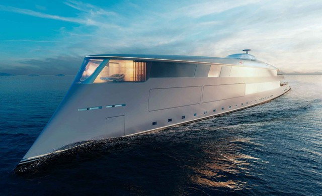 Бил Гейтс си поръча яхта за 644 млн. долара