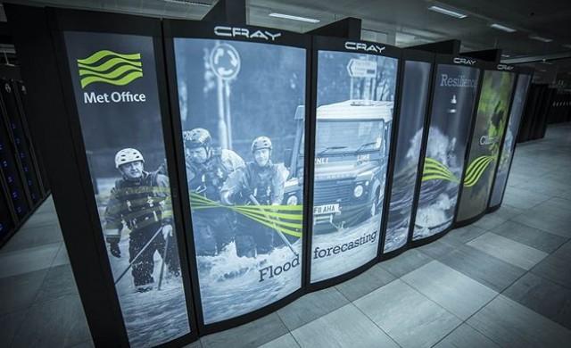 Суперкомпютърът, който ще помага на британските метеоролози