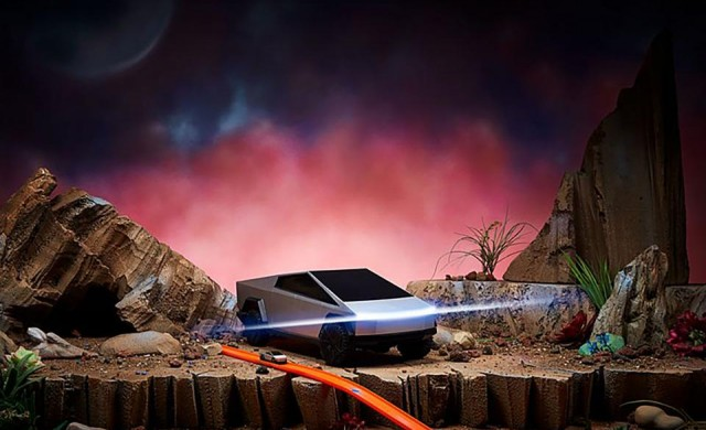 Пуснаха играчка, посветена на Cybertruck на Tesla