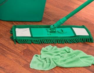 Британка предлага голо домашно почистване