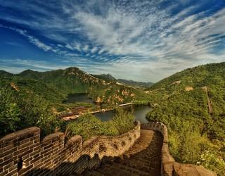Там, където Великата китайска стена се потапя в морето