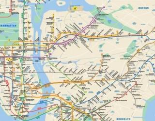 Почина човекът, създал картата на нюйорското метро
