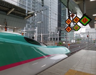 Нов японски влак-куршум ще се носи 10 см над релсите с 500 км/ч