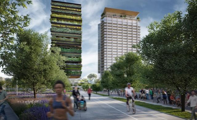 """Милано е на път да се сдобие с още една """"сграда мутант"""", покрита с растения"""
