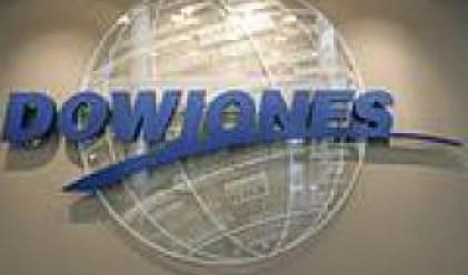 Индексът Dow Jones приключи с най-голямото си от четири години насам седмично повишение