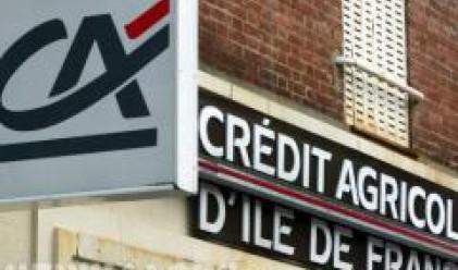 Credit Agricole с по-голяма от очакванията загуба през четвъртото тримесечие