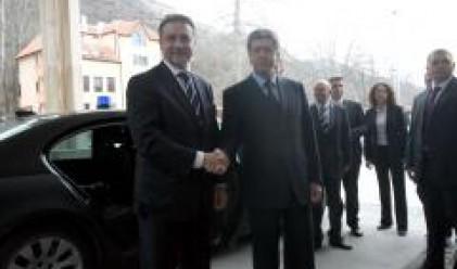 Македонският президент на посещение у нас