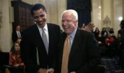 Търговци на фючърси залагат на сблъсък Обама срещу Маккейн