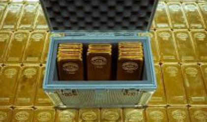 Солидна подкрепа не позволява по-сериозни спадове при златото