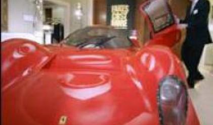 Фалшиво Ферари е атракцията на изложение на пиратски стоки в Брюксел