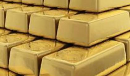 Спад на златото след по-малко от очакваното намаление на лихвите на ФЕД
