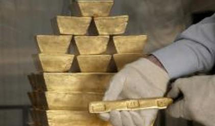 Златото отчита спад и приближава едномесечното дъно
