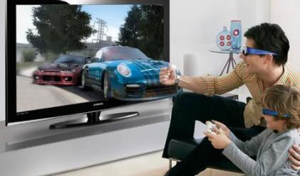 Телевизори 3D пускат в САЩ