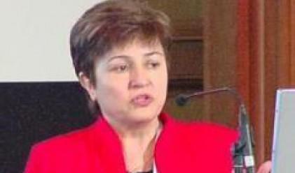 Кр. Георгиева: Няма опасност да повторим гръцката криза