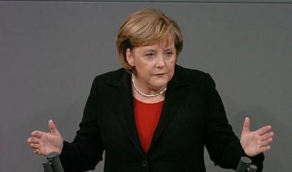 Меркел допусна изключване на Гърция
