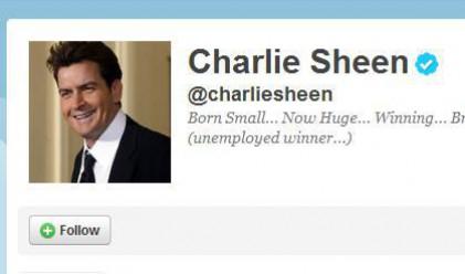 Чарли Шийн постави рекорд на Гинес в Twitter