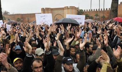 И в Мароко излязоха на протести