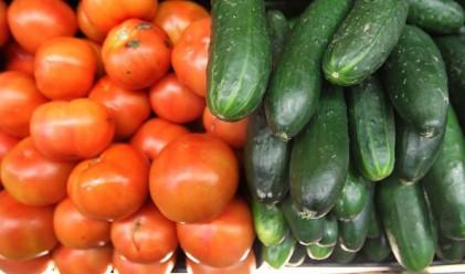 По-евтини краставици и домати