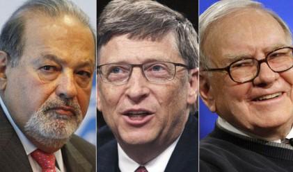 100-те най-богати в света притежават 1.7 трлн. долара