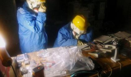 Работниците вътре в АЕЦ Фукушима - първи снимки