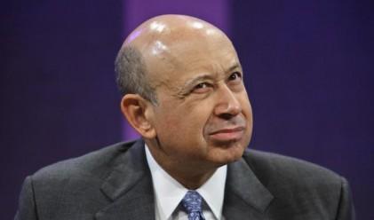 Шефът на Goldman Sachs проверява печалбата ежедневно