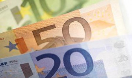 Ръст на еврото след добрите данни от Еврозоната