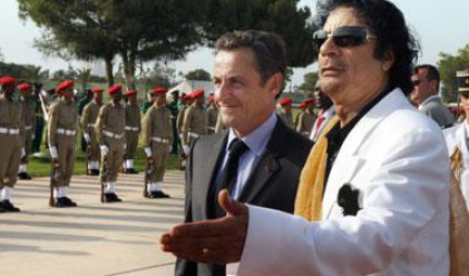 Конфликтът Саркози - Кадафи