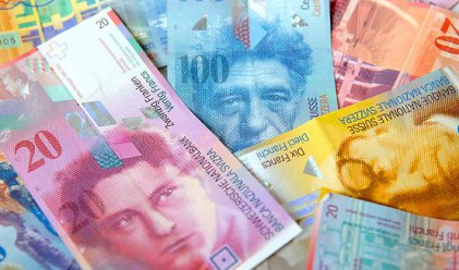 Швейцарският франк спасителен остров за инвеститорите