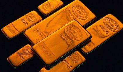 Златото отбеляза четвърти пореден ден на понижение