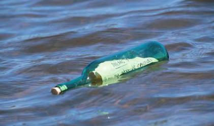 В Русия намериха писмо в бутилка, писано преди 24 г.