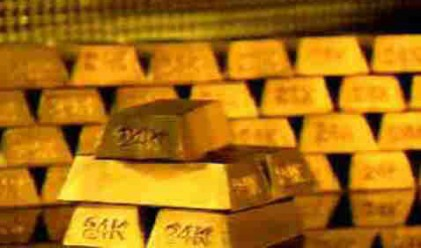 Златото губи 5% от стойността си вчера