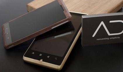 Дървен смартфон е последният връх в модерните технологии