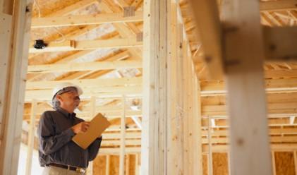 Минимален ръст в строителството през януари