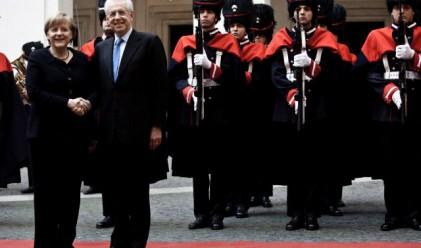 Германия и Италия сближават позициите си за изход от кризата