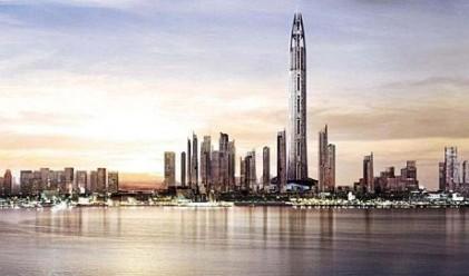 Замразено е строителството на небостъргачи с обща височина 42 км