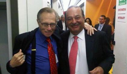 Карлос Слим и Лари Кинг стартират телевизия