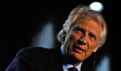 Доминик дьо Вилпен няма да участва в президентските избори