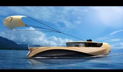 Създават яхта, теглена от вятъра