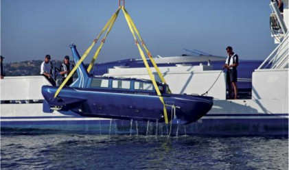 Новият хит сред богаташите - частни мини подводници