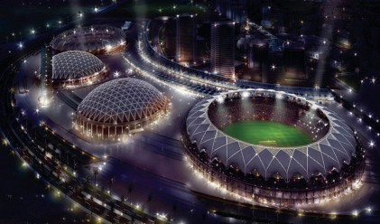 Многомилиарден спортен град в Дубай придобива очертания