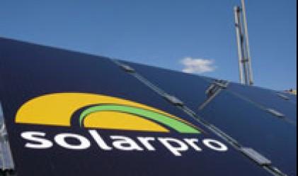 Соларпро холдинг пуска на пазара кристални фотоволтаични панели
