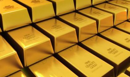 Златото с двуседмичен максимум