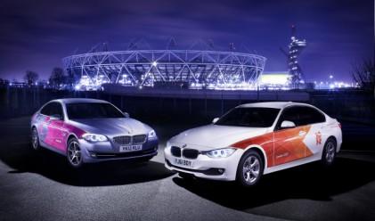BMW достави първите автомобили за Олимпиадата