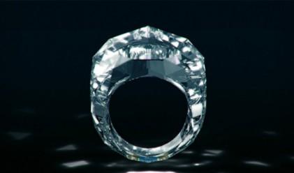 Създадоха пръстен изцяло от диамант